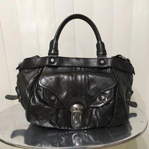 Francesco Biasia Leather Purse Long & Short Straps